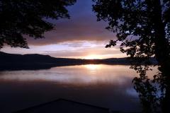 Sonnenuntergang am 3. Juni 2015