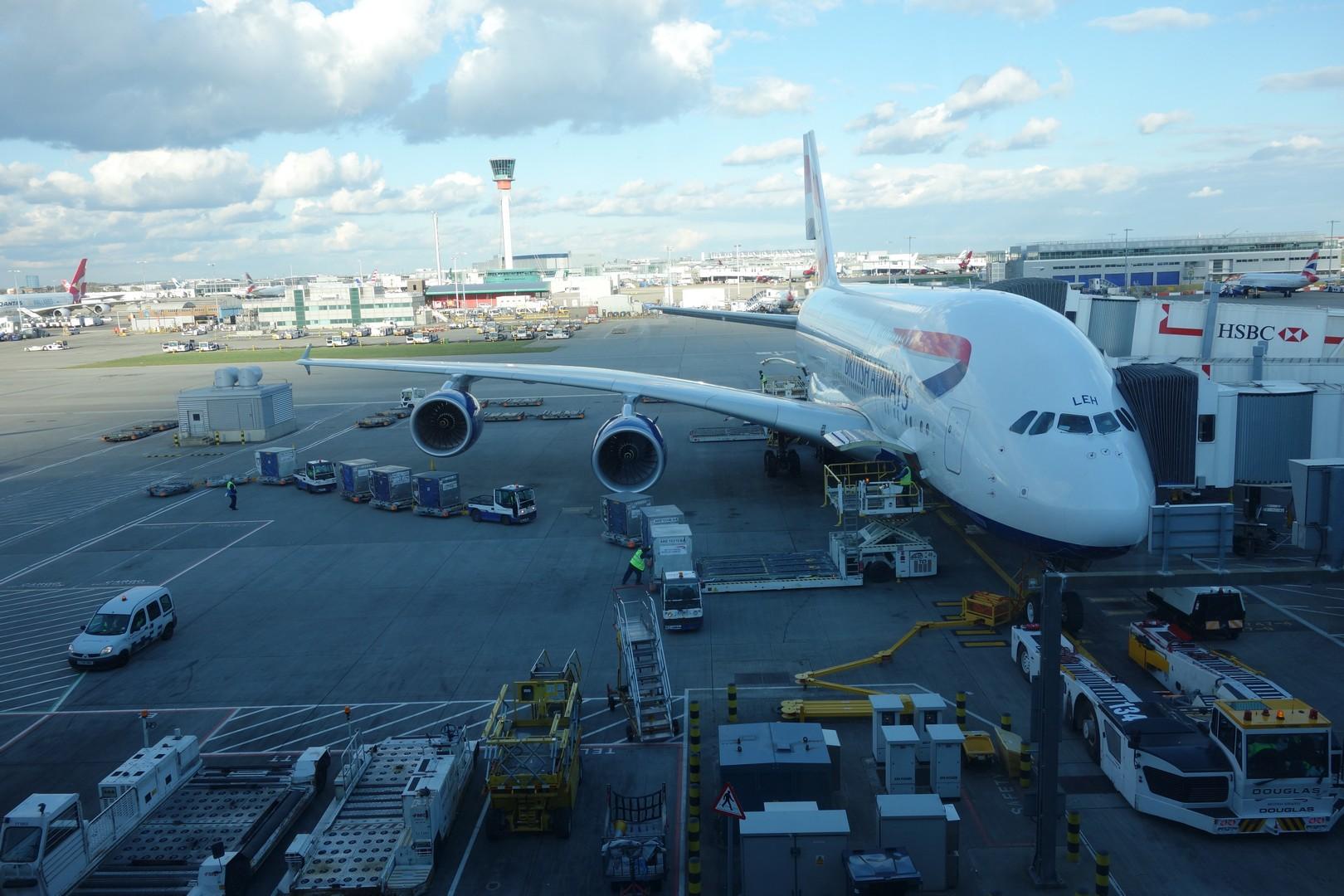 A380 nach Hong Kong
