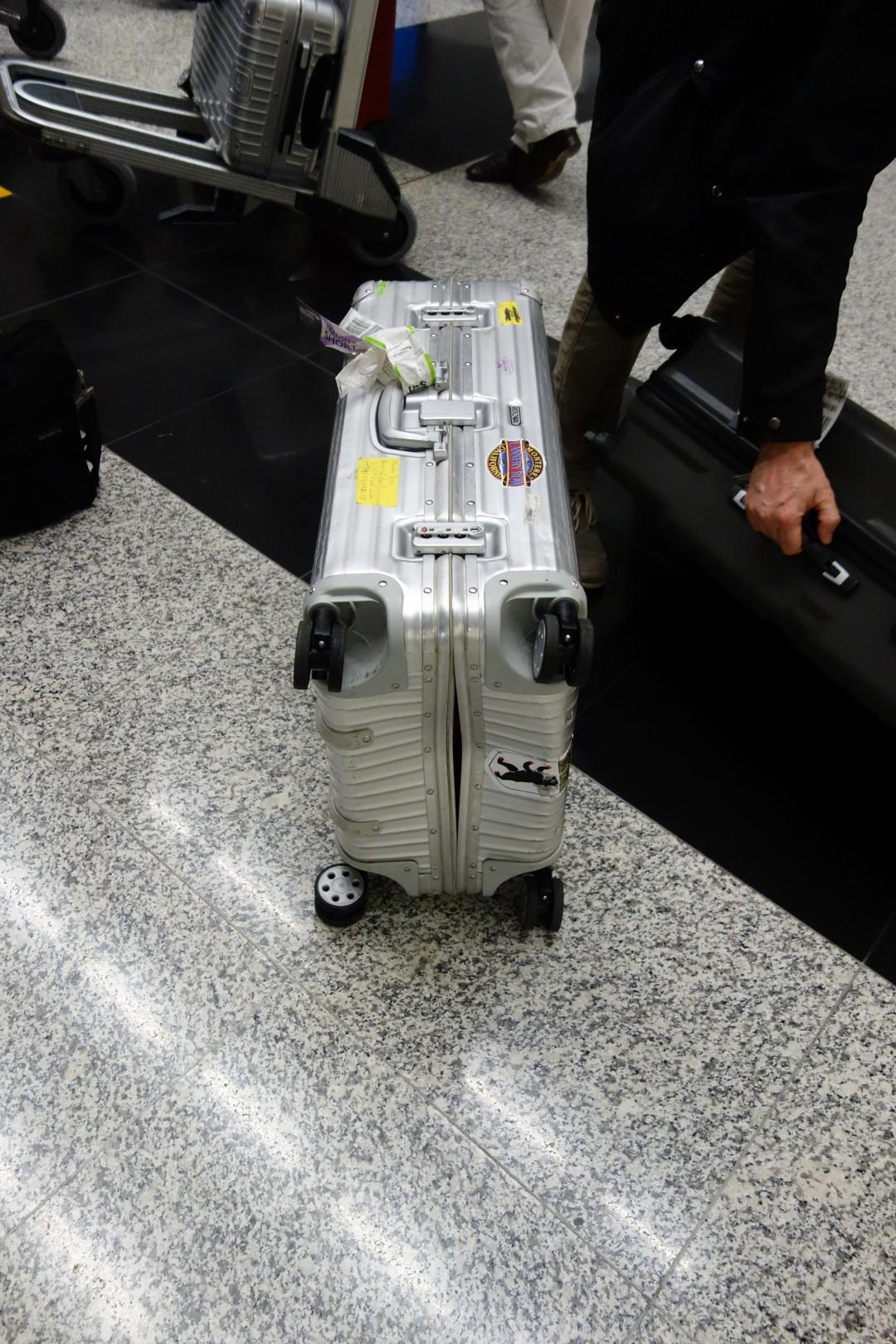 Mein Koffer in Hongkong.