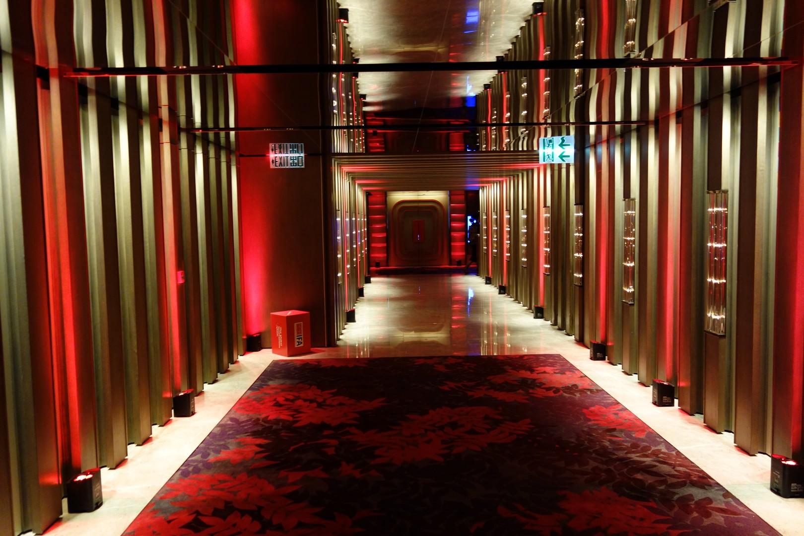 Timetunnel zu den IFA Konferenzräumen